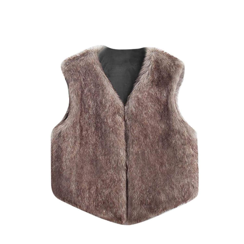 284f0d6a2 Cheap Girls Fur Waistcoat