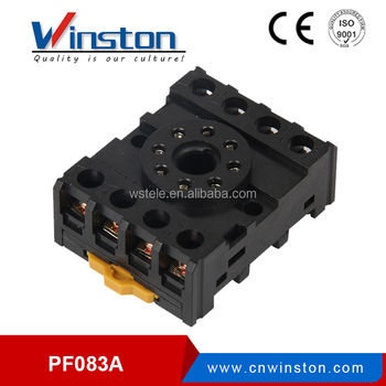 PF083A 8 Pin Relay Socket used For General Purpose JTX-2C JQX-10F ST3P DH48S 8 Pin Relay