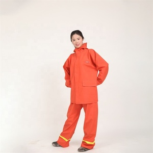 Anti-Static Yarn Hi Vis Reflective Safety Coverall Workwear Uniform Hi Vis Workwear