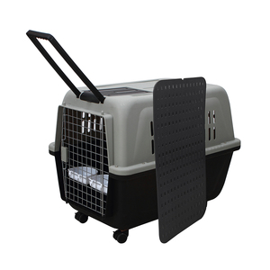 Large XXL Portable Plastic Pet Enclosure Puppy Dog Travel Kennels Carrier For Sale