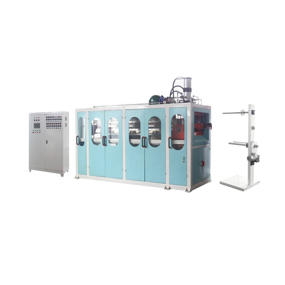 Plastic Beker Making machine (vel extruder + cup forming machine)