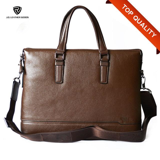 Custom Leather Bag Handbags Men Laptop Work Messenger