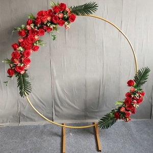 Wedding Circle Arch Frame Round Wedding Backdrop