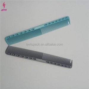 Special design nylon professional carbon hair cutting razor comb