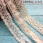 100% Cotton Polished Thin Lace