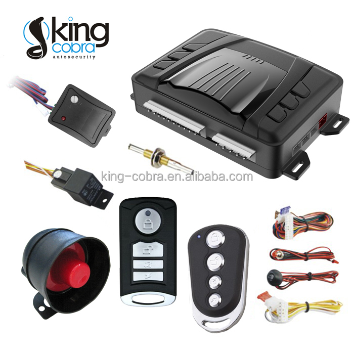 China Manufacturer Auto Security Alarm System Cars With Ultrasonic ...