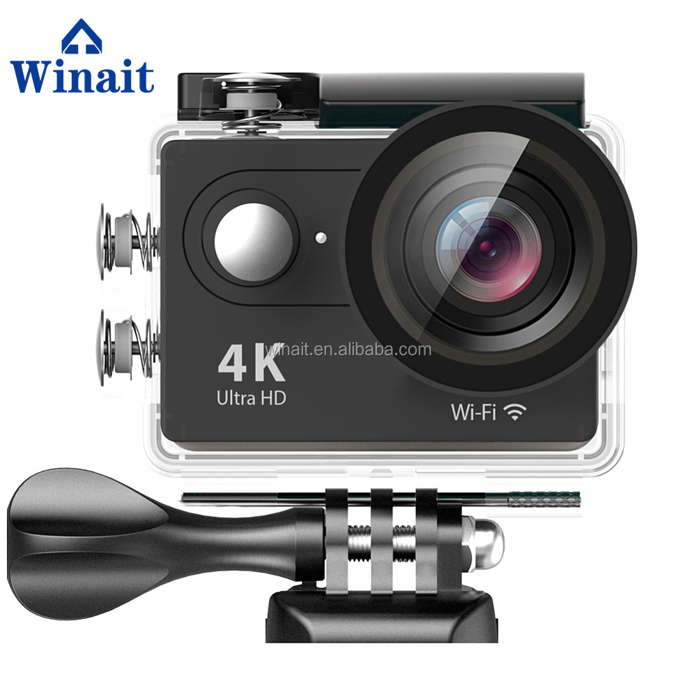 2016 New Action camera waterproof bluetooth 1080p full hd sport camera wifi travel for sports smart camera made in china