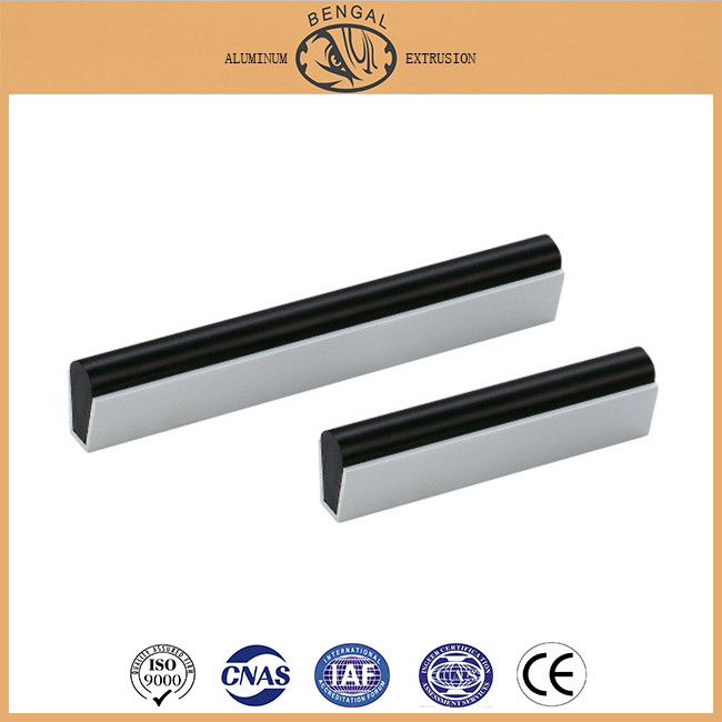 Aluminum Door Handle Section, Aluminum Window and Door Accessory