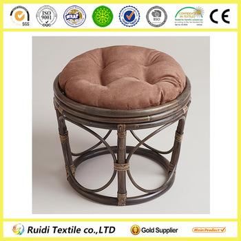 Brown Papasan Chair Cushion Rattan Sofa Cushion Covers