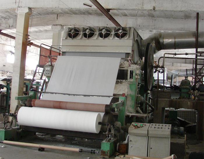 toilet tissue paper equipment