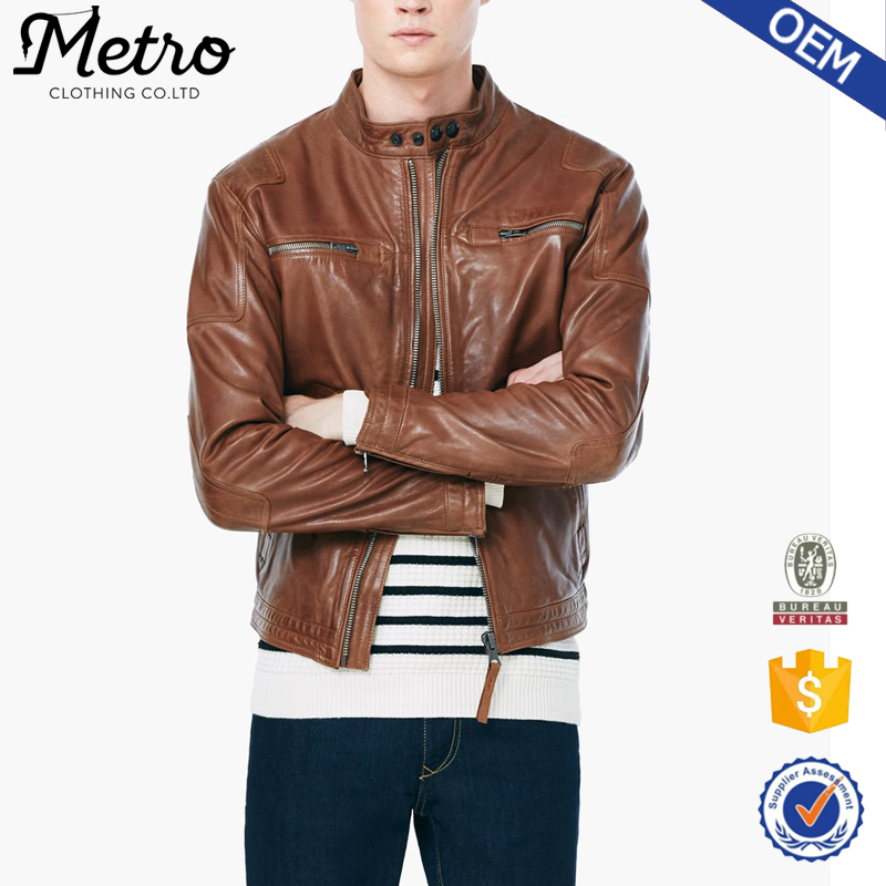 9247fcb67 Best Quality Fashion Coffee Brown Color Leather Jacket For Men - Buy Coffee  Brown Color Leather Jacket,Fashion Leather Jacket,Leather Jacket Men ...