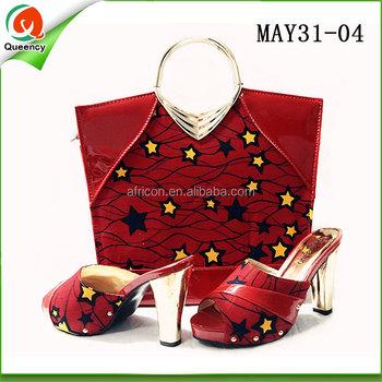 18e52e885897 african wax printed fabric women high heel dress shoes italian women shoes  and clutch bag to