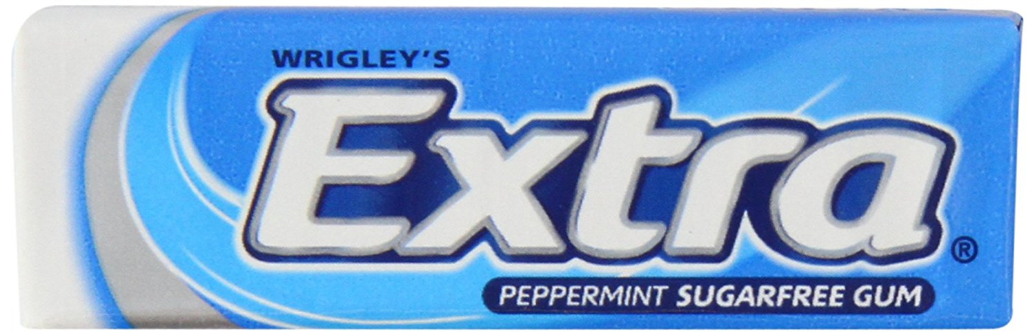 Wrigley's Extra Peppermint Sugarfree Chewing Gum Tray (Pack of 30 x 10 pallets)