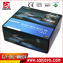 SKYARTEC spy 2014 Newly MNH04 7CH 2.4G WASP AUTO CP one key Switchover Inverted flight rc helicopter 6ch titan 450 pro rtf