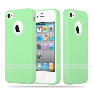 Ultra Slim 1mm Thickness Soft Matte TPU Phone Case Cover For iPhone 4/ 4S