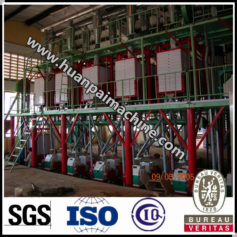 kenya wheat flour mill price / 30 ton per day corn & wheat milling plant / machine to make wheat flour