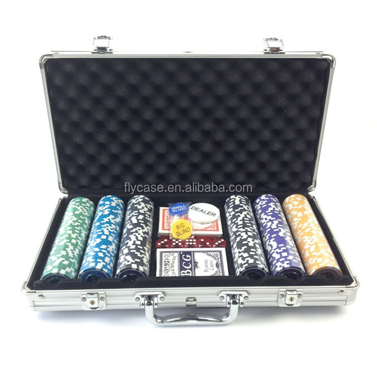 2017 A new version of style aluminum poker set portable aluminum poker game set with lockable - Guangdong