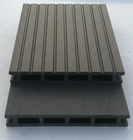 Fiber Hdpe Outside Wpc 60% Wood/bamboo Fiber 30% HDPE 10% Additives Material And Customized Length Waterproof WPC