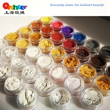 Orcheer high quality mica pearl pigment / Industrial and cosmetic pigment powder / Chameleon 3D metallic luster effect