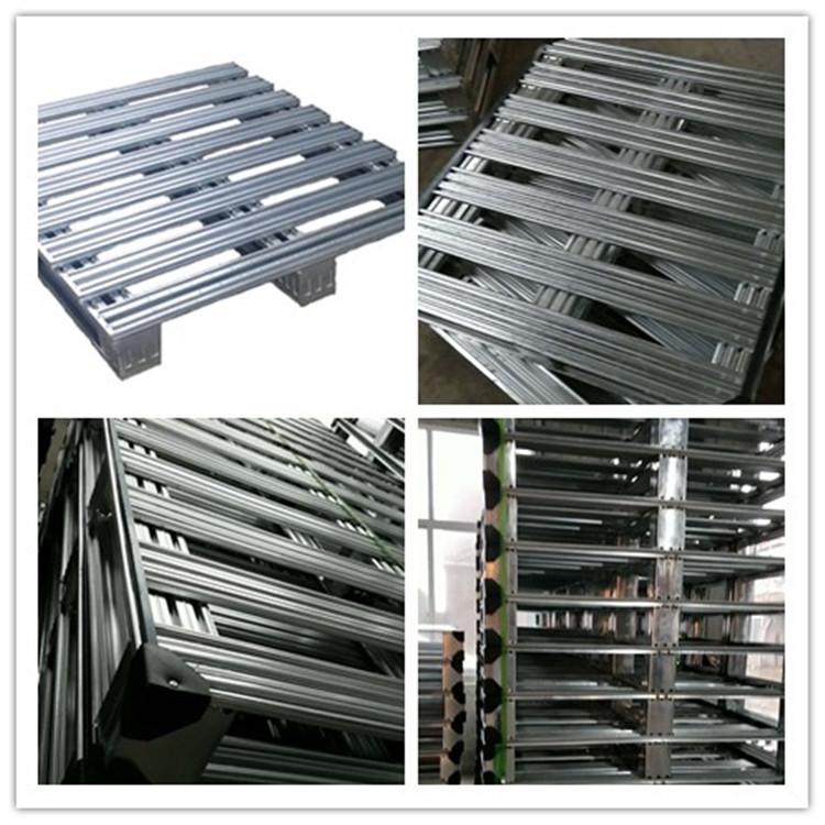 Galvanized Euro 4-way entry galvanized stainless steel metal pallet factory price