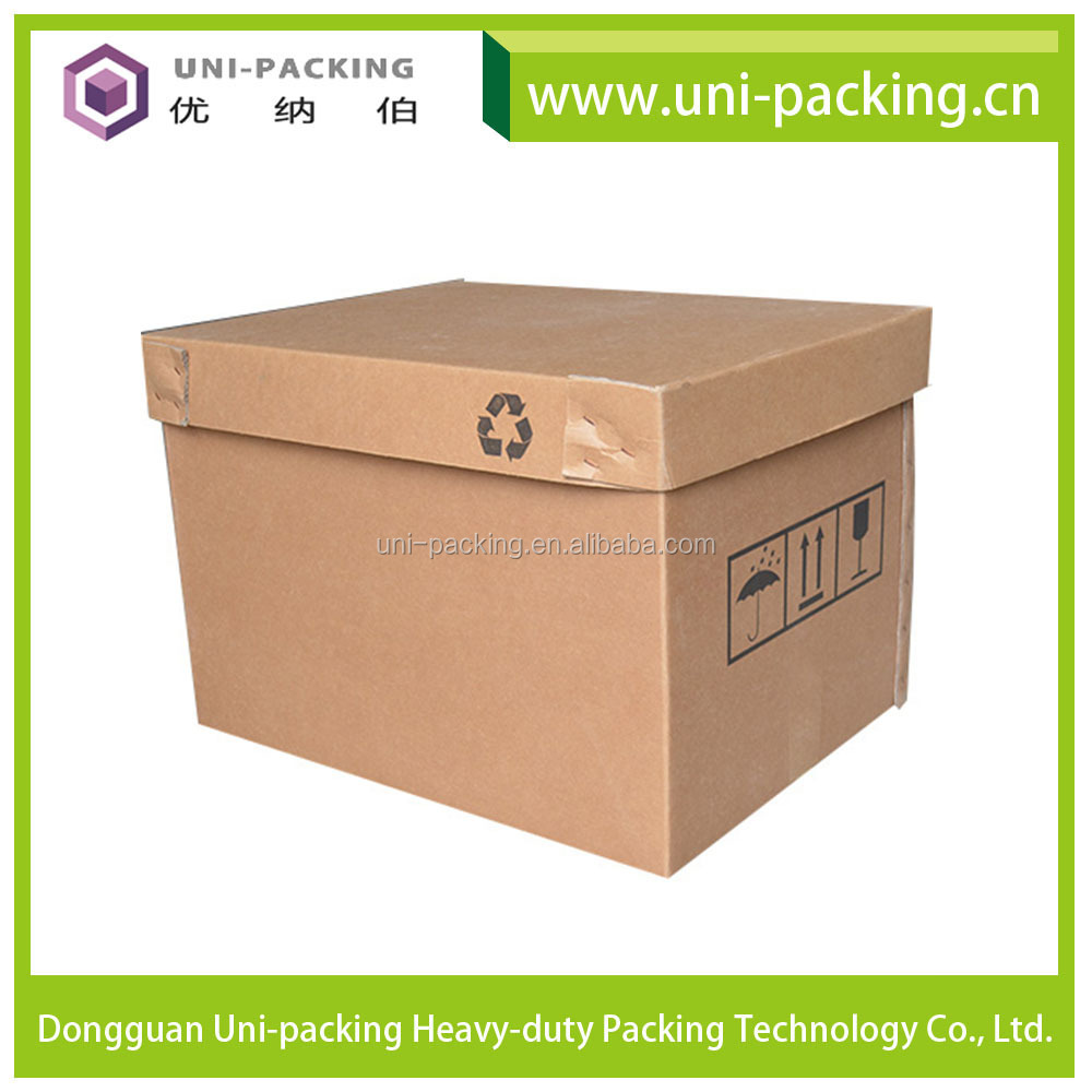 Heavy Duty Packaging Square Cardboard Paper IBC