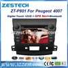A8 Chipset 8'' HD Touch screen Car dvd gps for PEUGEOT 4007 with GPS Navigation ZT-P4007
