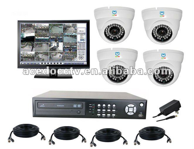 Android smart phone support remote control cctv system