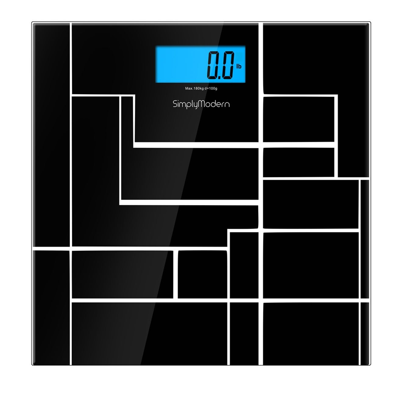 Get Quotations Simplymodern Digital Bathroom Weight Scale Precision Tempered Gl Body Backlight Display