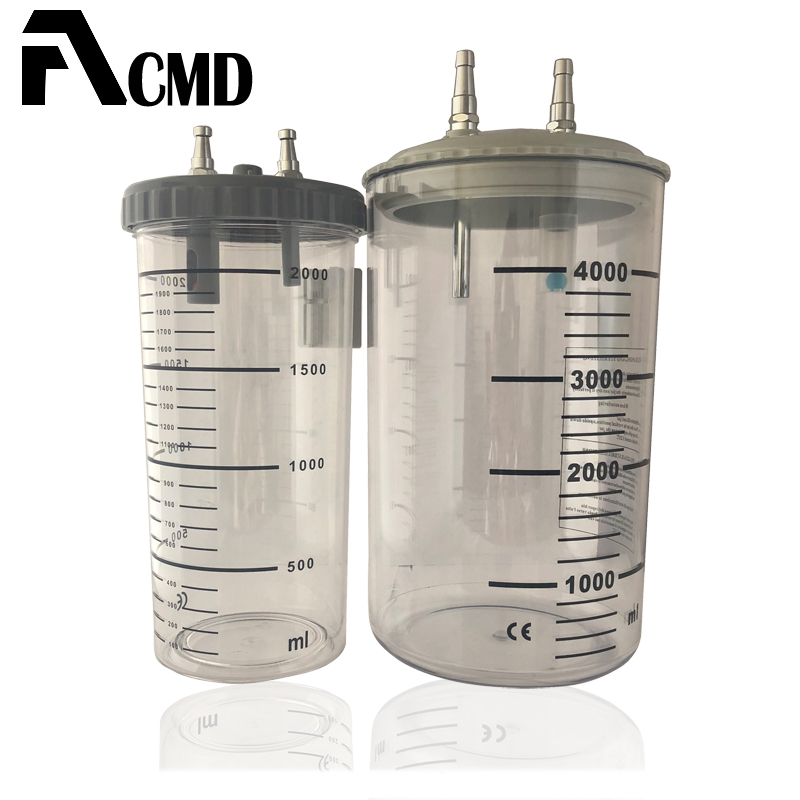 wall Mounted Medical Suction Canister;Suction Jar;Suction Bottle Used In Bed Head Unit