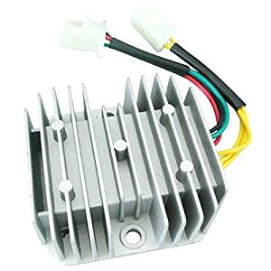 Generic 6-Wires 12V DC Voltage Regulator Rectifier For Honda Dirt Bike CH125 GY6 Quad 1pc