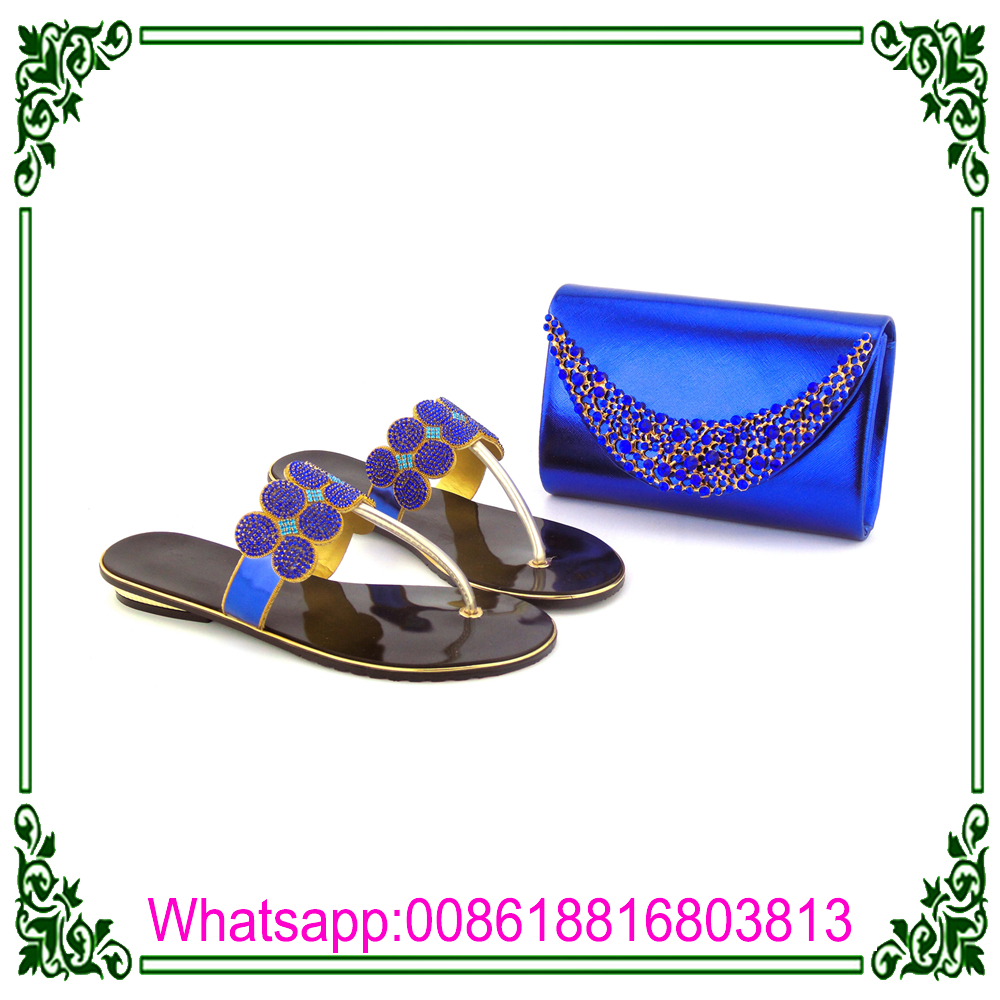 Comfortable gold bag shoes and matching bag matching african Italian slipper and women rr4Ax