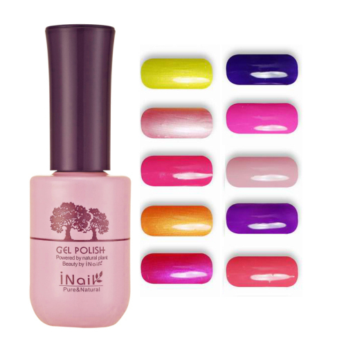 12pcs Inail Rose Aroma Faint Scent Gel Polish 15ml 78 colors for choices