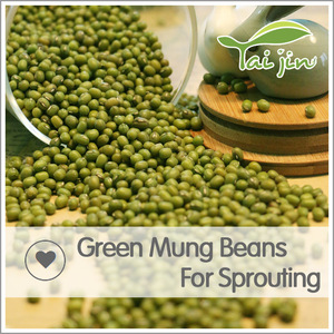 2017 New Crop Common Cultivation Sprouting Green Mung Beans