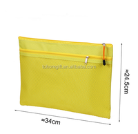 High quality custom a4 size hanging document pouch file folder manufacturer