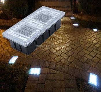 12v Led Hardscape Light Solar Ed Path Brick Paver For Outdoor Landscape Lighting