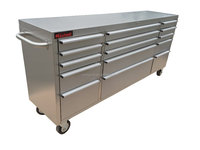 72 inch Heavy Duty Stainless Steel Tool Chest/Tool Box/Tool Cabinet