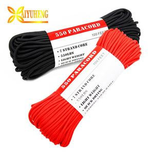 outdoor durable polyester double braid rope 6mm spools