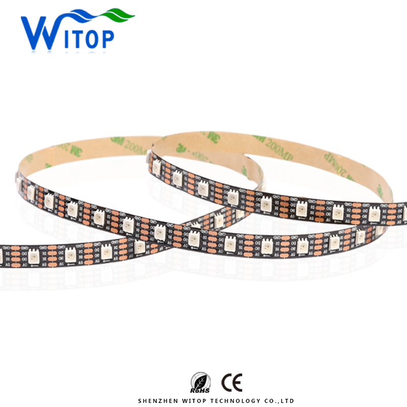 High Brightness Digital Addressable Pixel DC5V WS2813A RGB LED Strip Light
