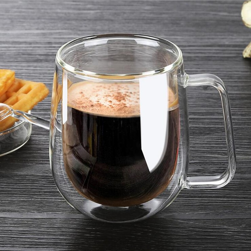 250ml clear beer drinking mugs glass cup coffee mug cups. Black Bedroom Furniture Sets. Home Design Ideas