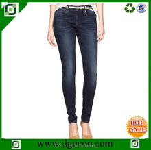 High quility sexy new fashion design elastic denim slim fit wholesale jeans