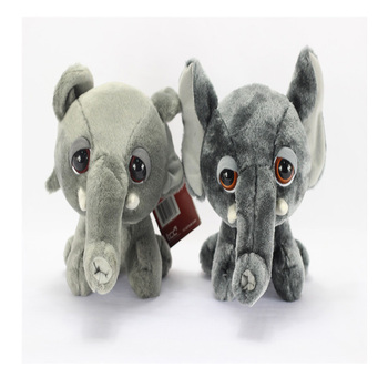 Creative birthday gift for boyfriend cute sitting posture simulation elephant doll plush toys