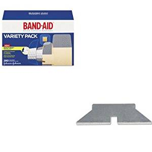 KITCOS091509JOJ4711 - Value Kit - Cosco Easycut Self Retracting Cutter Blades (COS091509) and Band-aid Sheer/Wet Adhesive Bandages (JOJ4711)