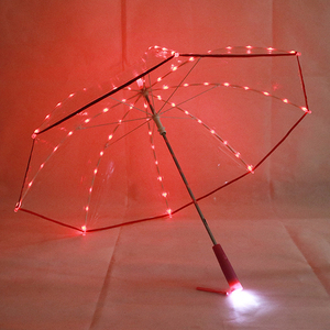 High Quality Chinese Products Clear Led Umbrella