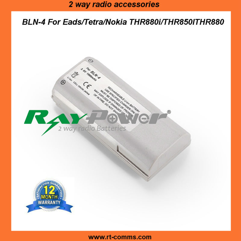 Rechargeable battery BLN-4 replacement for eads NOKIA THR880i/RHR850/THR880