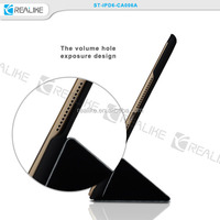 2 in 1 Magnetic Stand Hard Leather Case + Smart Cover For iPad Air/Air2, For iPad 5/6