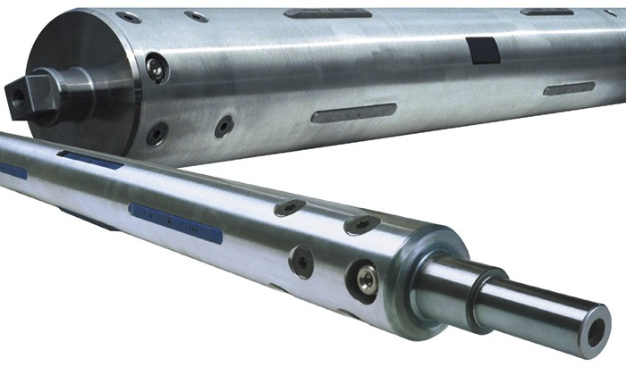 Air pneumatic aluminum shaft for printing machine