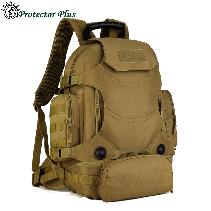 40L Outdoor Waterproof MOLLE Military Tactical Backpack Camping Hiking  Trekking Sport Multifunction High Quality Nylon Rucksack  947dc565f5bcc