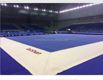 FIG Professional Gymnastics Spring Floor 15m15m Sprung Free Exercise