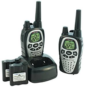 Uniden 26-Mile 22-Channel FRS//GMRS Two-Way Radio Pair GMR2638-2CK Discontinued by Manufacturer Black