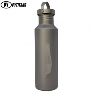 Metal Titanium Sports Water Bottle Manufacturing 400/550/700ml Outdoor Camping